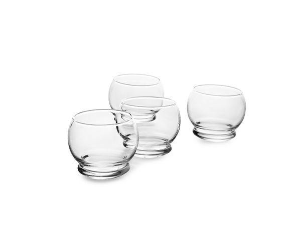 Normann Copenhagen Rocking Glass - 4 pcs 25 cl