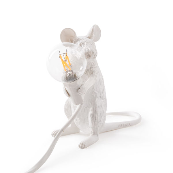 Seletti Mouse Lamp Sitting