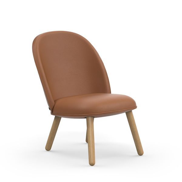 Normann Copenhagen Ace Lounge Chair Ultra Leather