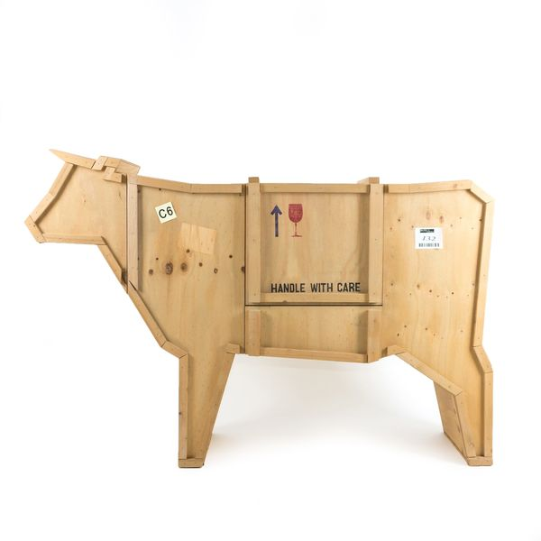 Seletti Sending Animals Wooden Furniture Cow