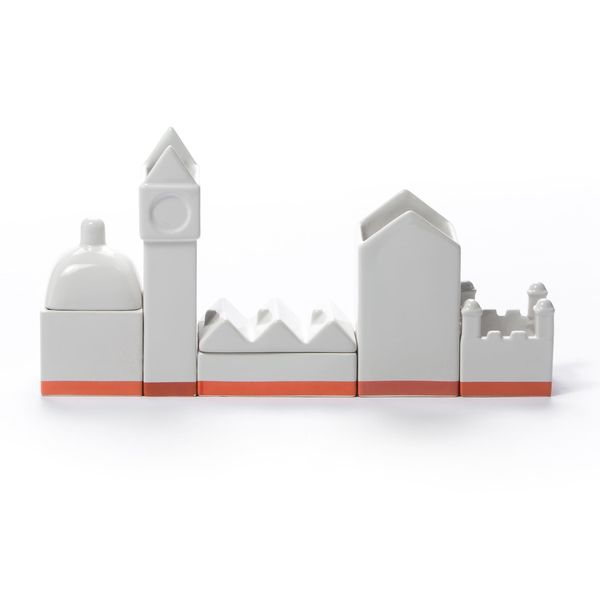Seletti Desktructure The City Desk Organizer Set