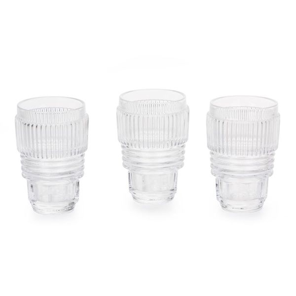 Seletti Diesel Machine Collection Drinking Glass Set 3pcs Large