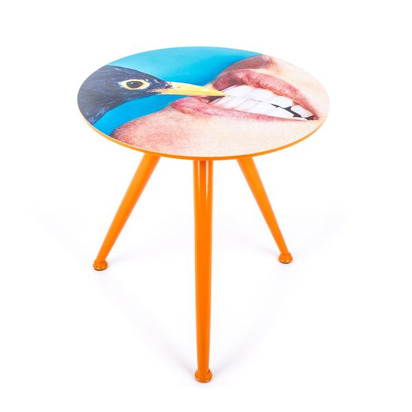 Seletti Toiletpaper Tables Small Crow