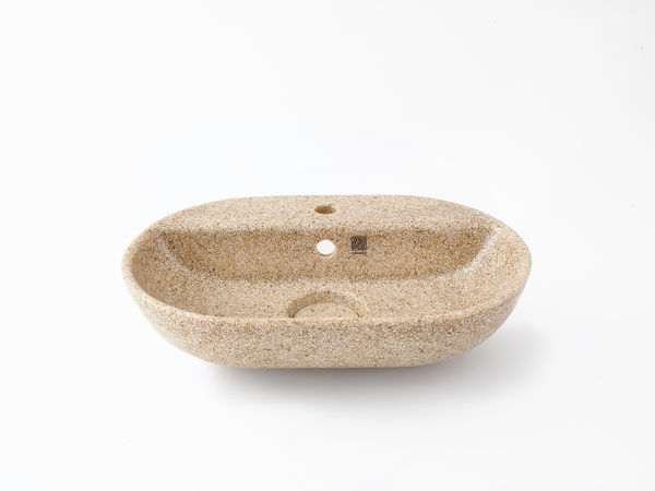 Woodio Soft60 faucet bowl sleek natural