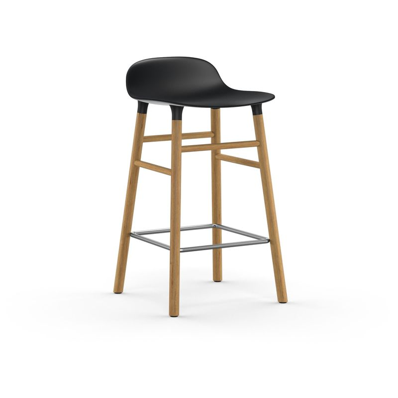Normann Copenhagen Form Barstool Short Oak