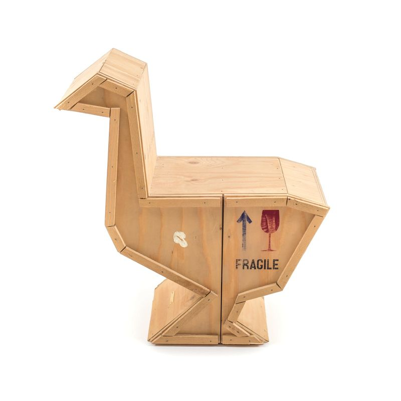 Seletti Sending Animals Wooden Furniture Goose