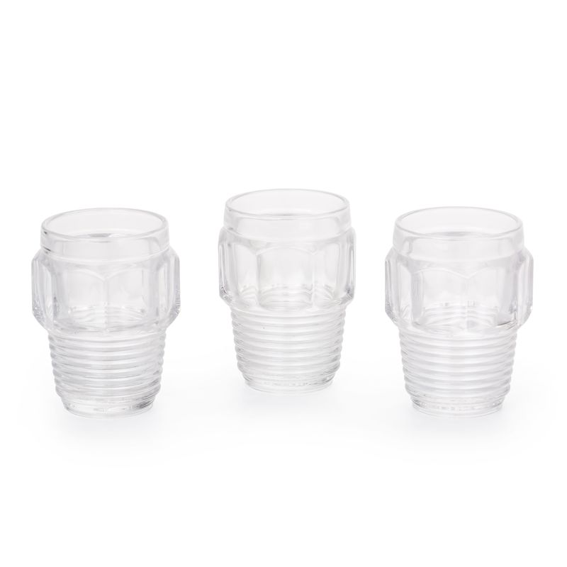 Seletti Diesel Machine Collection  Drinking Glass Set 3pcs Small